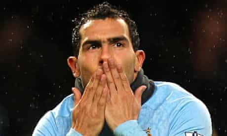 Carlos Tevez, Manchester City v Wolves