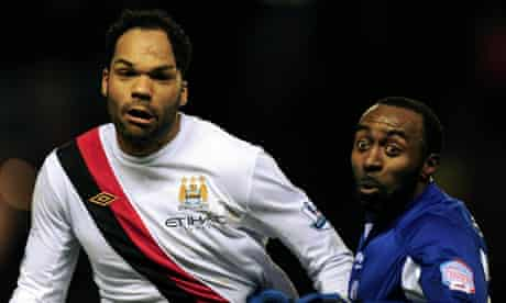 Joleon Lescott, who could be on his way to Chelsea, and, good Lord, is that Darius Vassell?
