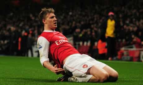 Arsenal Nicklas Bendtner