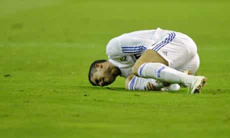 Cristiano Ronaldo feels the pain as Real Madrid slump to defeat at Osasuna