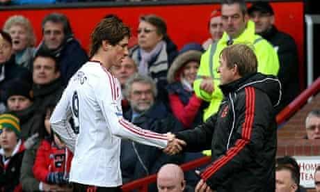 Kenny Dalglish and Fernando Torres