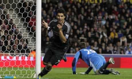 Luis Suarez, Stoke v Liverpool