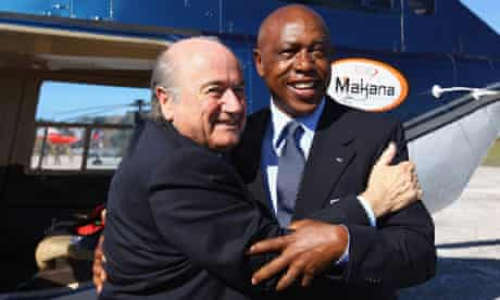 Sepp Blatter and Tokyo Sexwale