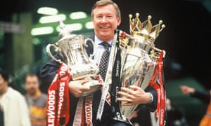 Sir Alex Ferguson 1996 Double