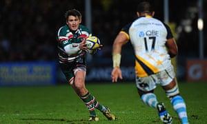 Leicester fly-half Toby Flood