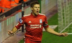 Steven Gerrard, Liverpool v Newcastle United