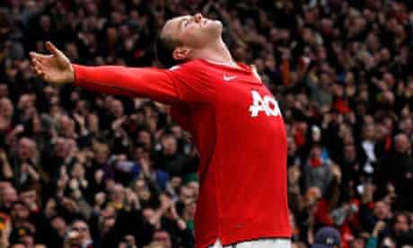 Wayne Rooney, Manchester United v Manchester City