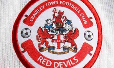 Crawley Town club crest.