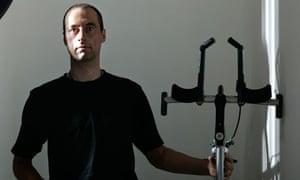 Graeme Obree cycling
