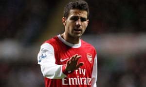 Cesc Fábregas could sully his reputation by becoming involved in unnecessary arguments