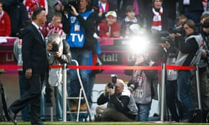 Bayern Munich's Louis van Gaal has been the subject of much media attention recently