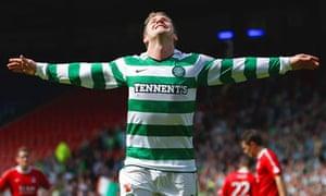 Aberdeen v Celtic Kris Commons