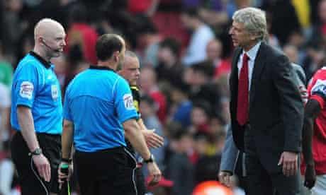 Arsene Wenger, Arsenal v Liverpool