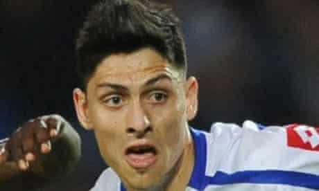 Alejandro Faurlin, QPR v Derby County