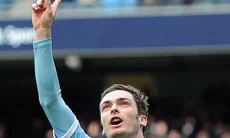 Adam Johnson, Manchester City v Sunderland
