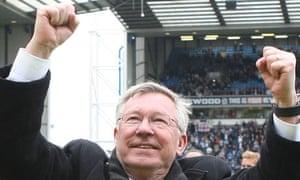 Sir Alex Ferguson, Blackburn Rovers v Manchester United