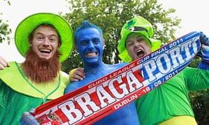 Braga and Porto fans