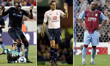 Patrick Vieira, Jonathan Woodgate and Nigel Re-Coker are available as free agents