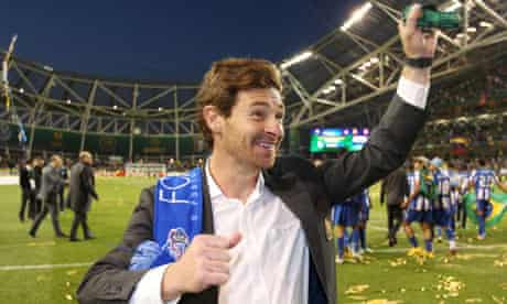 André Villas-Boas after he won the domestic double and Europa League with Porto