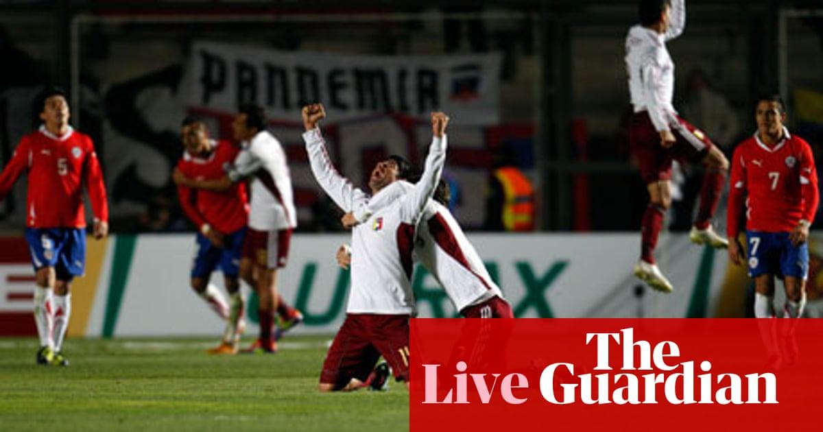 Copa America 2011 Paraguay V Venezuela As It Happened Jacob Steinberg Football The Guardian