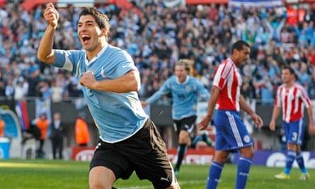 Uruguay's Luis Suárez