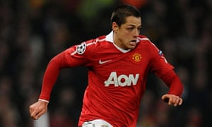 Javier Hernández has spent time in hospital, but Sir Alex Ferguson claims he was concussed
