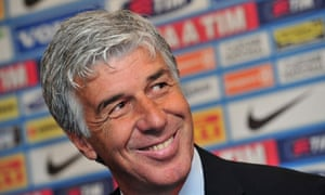 Inter's new coach Gian Piero Gasperini is presented to the media