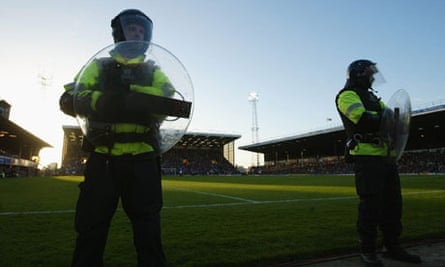 The police have to thoroughly prepare ahead of match-days, with a number of considerations to make