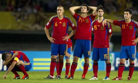Spain's Under-20 side