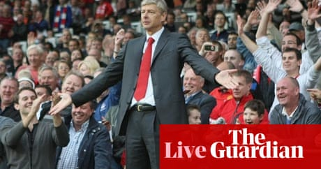 Manchester United 8 2 Arsenal As It Happened Premier League 2011 12 The Guardian