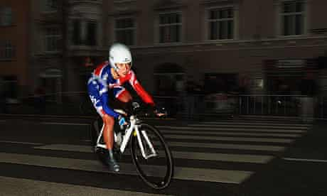 Emma Pooley at the UCI Road World Championships