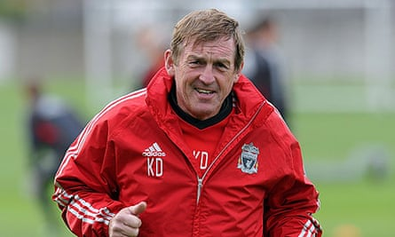 Kenny Dalglish, the Liverpool manager