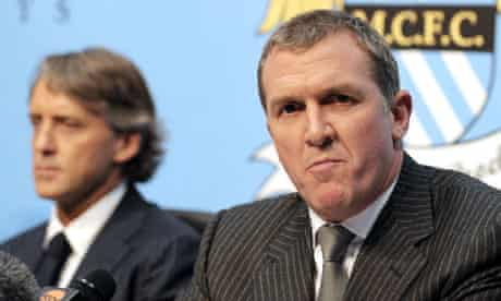 Manchester City chief executive Garry Cook has denied sending an offensive email