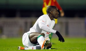 Senegal's Demba Ba