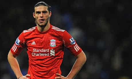 Andy Carroll proves disappointing for Liverpool in 3-1 defeat at Bolton