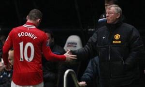 Sir Alex Ferguson refused to discuss Wayne Rooney