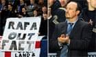 Rafa Benitez and Chelsea fans