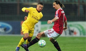 Alex Oxlade-Chamberlain, left, only played 25 minutes against Milan