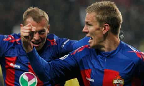CSKA Moscow v Real Madrid