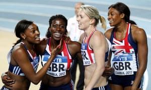 Women's 4x400m relay team