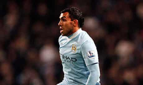 Manchester City 's Carlos Tevez had hand in winning goal