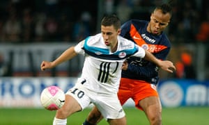 Lille's Belgian midfielder Eden Hazard, left, is set for a transfer to Manchester this summer