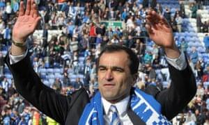 Roberto Martinez, Wigan manager