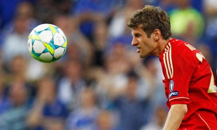 Thomas Müller, Bayern Munich v Chelsea, Champions League final
