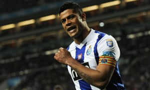 Porto's Brazilian forward Hulk