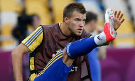 Andriy Yarmolenko, Ukraine