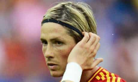Fernando Torres, Spain v Italy, Euro 2012