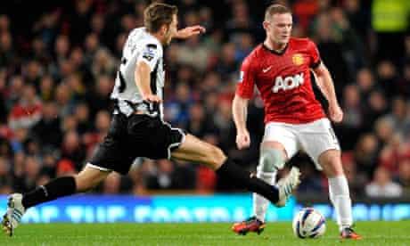 Wayne Rooney, Manchester United v Newcastle