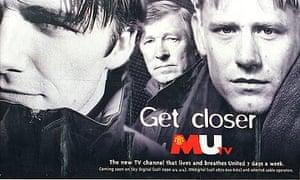 MUTV launch poster