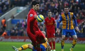Luis Suarez, Mansfield Town v Liverpool